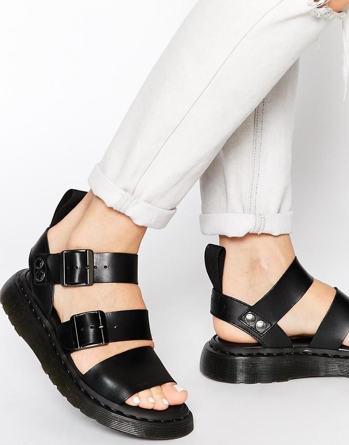 debb76b820c ... Dr. Martens Dr Martens Shore Gladiator Reinvented Gryphon Strap Sandals  ...