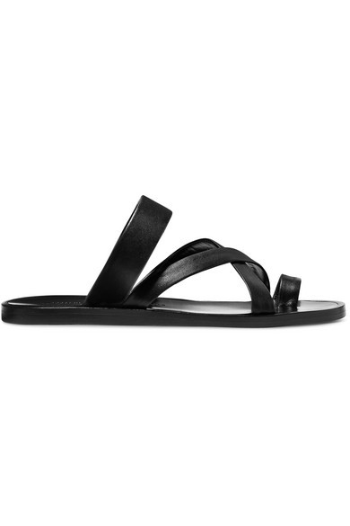 Common Projects Leather Sandals, $264
