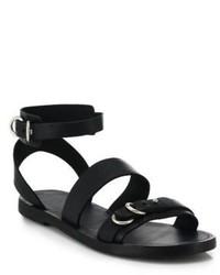 Rag and Bone Rag Bone Lara Flat Leather Sandals