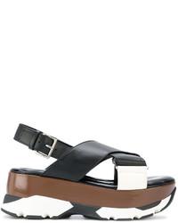 Marni Sporty Flatform Sandals