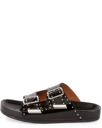 Givenchy Studded Leather Sandals cheap price free shipping d6O6JAUPGI
