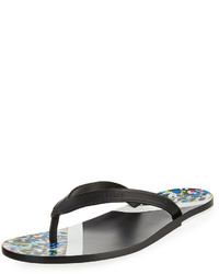 Fendi Confetti Flip Flop Sandal