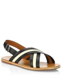 Bally Leather Flip Flops