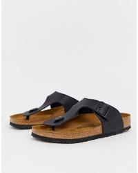 Birkenstock Ramses Birko Flor Sandals In Black