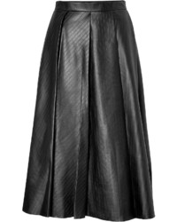J.W.Anderson Jw Anderson Faux Leather Midi Skirt