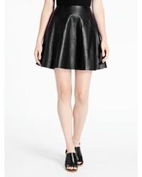 Kate Spade Leather Circle Skirt