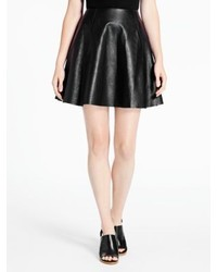 Kate Spade Leather Circle Skirt