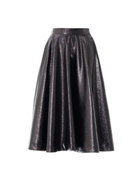 LULU & CO Metallic Full Pleated Skirt