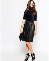 Pieces Pleated Skirt