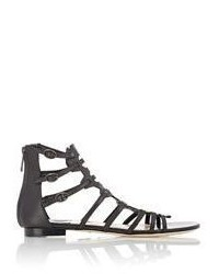 Paul Andrew Agia Gladiator Sandals Black