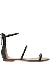 Giuseppe Zanotti Black Gladiator Harmony Sandals