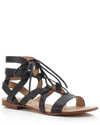 Splendid Cameron Gladiator Lace Up Flat Sandals