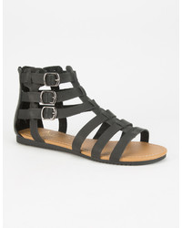Celebrity Nyc Strappy Buckle Gladiator Sandals