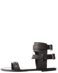 Charlotte Russe Studded Gladiator Sandals