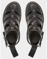 53111419af ... Dr. Martens Dr Martens Shore Reinvented Gladiator Geraldo Ankle Strap  Sandals ...