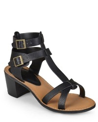 Journee Collection Hanson Heeled Gladiator Sandals