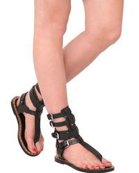 8de9d214b25c ... Isabel Marant Jeepy Leather Gladiator Sandals
