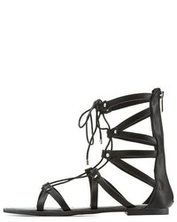 Charlotte Russe Lace Up Gladiator Sandals