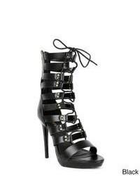 Liliana Trista 03 Strappy Lace Up Gladiator Sandals