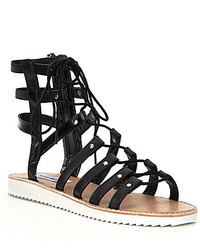 Steve Madden Maybin Ghillie Gladiator Sandals
