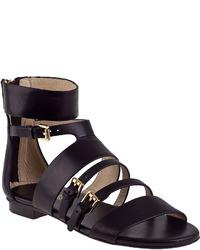 MICHAEL Michael Kors Michl Michl Kors Winston Gladiator Sandal Black Leather
