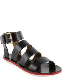 Marni Multi Band Ankle Strap Gladiator Sandals