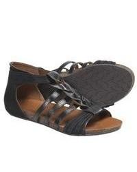 Naya Palomi Gladiator Sandals Black