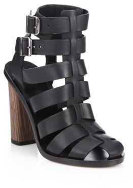 bf926889c29 ... Vince Nicolette Leather Caged Gladiator Sandals ...