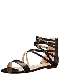 Nine West Securitie Leather Gladiator Sandal