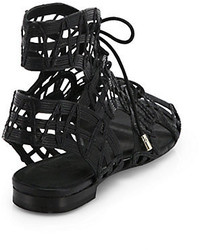 c13315dc275 ... Joie Renee Caged Leather Gladiator Sandals ...