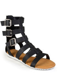 Journee Collection Strappy Gladiator Sandals