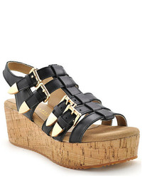 Volatile Sunkissed Platform Gladiator Sandals