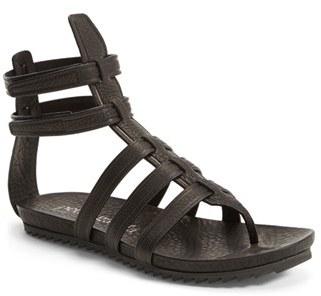 6cf911212293 Pedro Garcia Virtue Leather Gladiator Sandal