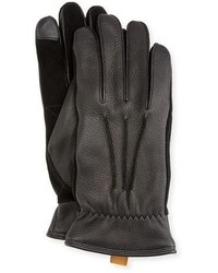 UGG 3 Point Leather Smart Gloves
