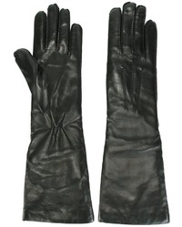 Ann Demeulemeester Leather Gloves