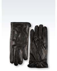 Armani Collezioni Napa Leather Glove