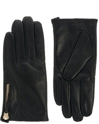 Asos Leather Zip Gloves