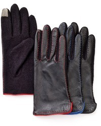 Lauren Ralph Lauren Basic Leather Tech Gloves