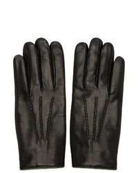 Dolce and Gabbana Black Gloves