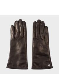 Paul Smith Black Lamb Leather Gloves