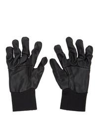 The Viridi-anne Black Lambskin Gloves