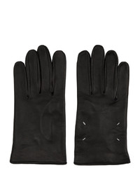 Maison Margiela Black Leather Gloves