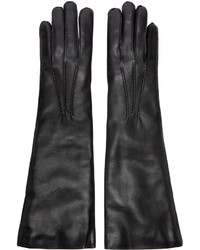Ann Demeulemeester Black Short Joris Gloves