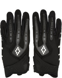 Marcelo Burlon County of Milan Black Uturuncu Gloves