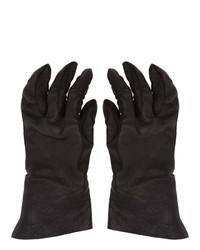 Boris Bidjan Saberi Black Vegetable Tanned Gloves