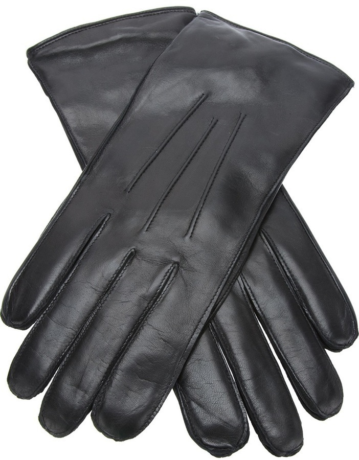 Ann Demeulemeester Brushed Leather Gloves