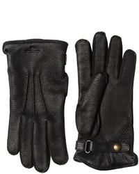 Belstaff Buckie Wool Deer Leather Gloves