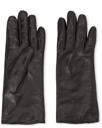 C Lective Cashmere Lined Leather Gloves