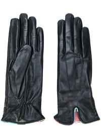 Paul Smith Contrast Trim Gloves