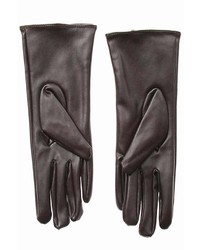 Cuccia Italia Brown Leather Gloves